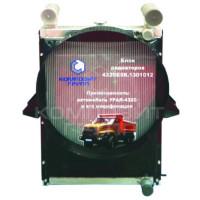 Блок радиаторов Урал-4320-78, Урал-44202, Урал-Next