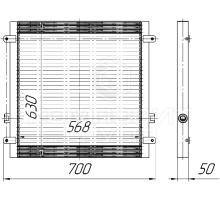 Радиатор масляный Амкодор А-352