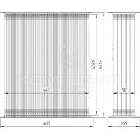 Сердцевина радиатора МТЗ-1221, МТЗ-1222