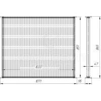 Сердцевина радиатора К-700, К-701 Кировец