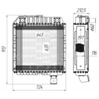 Радиатор охлаждения СК-6, Енисей-1200