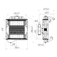 Блок радиаторов ВТ-150Д