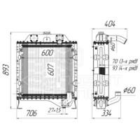 Блок радиаторов ДЭС-60Р