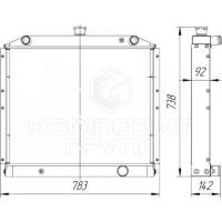 Радиатор охлаждения Урал-4320-60
