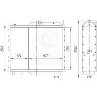 Блок радиаторов УЭС-2-280А