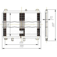 Радиатор масляный Т-170, Т-10, А-120, В-138