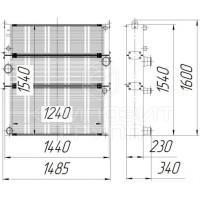 Блок радиаторов КВК-8060