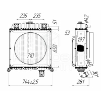 Блок радиаторов ТТ-4М