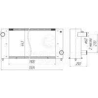 Радиатор охлаждения КЗС-1218