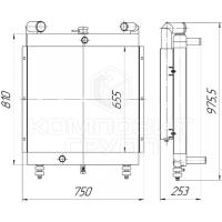 Блок радиаторов Tvex-140, Tvex-180, ЕК-14, ЕК-18