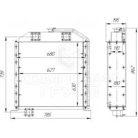 Радиатор охлаждения ТО-28, А-332, А-342, А-344