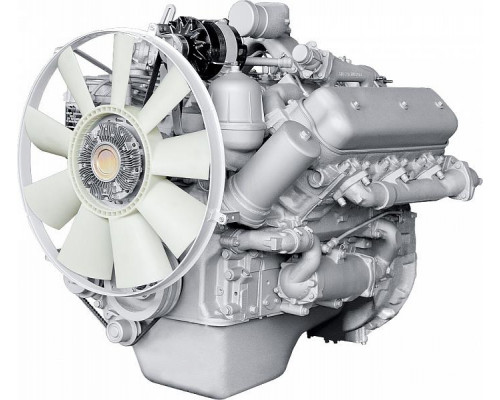 Двигатель ЯМЗ-236БК-4 без КПП и сцепления (250 л.с.) (Акрос) АВТОДИЗЕЛЬ