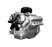 Двигатель ЯМЗ-238М2-осн. с КПП и сц. (240 л.с.) (ЯМЗ)
