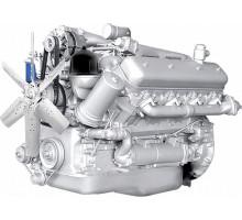 Двигатель ЯМЗ-238НД8-осн.без КПП и сц. (300 л.с.) АВТОДИЗЕЛЬ