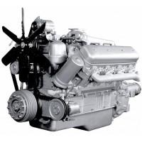 Двигатель ЯМЗ-238АК-осн.без КПП, со сц. (235 л.с.) (ЯМЗ)