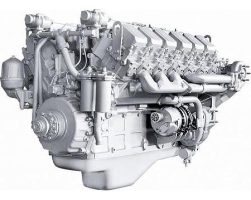 Двигатель ЯМЗ-240НМ2 без КПП и сц., с инд. ГБЦ (500 л.с.) с ЗИП  (ЯМЗ)