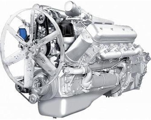Двигатель ЯМЗ-7513-04 без КПП и сц. (360 л.с.) АВТОДИЗЕЛЬ