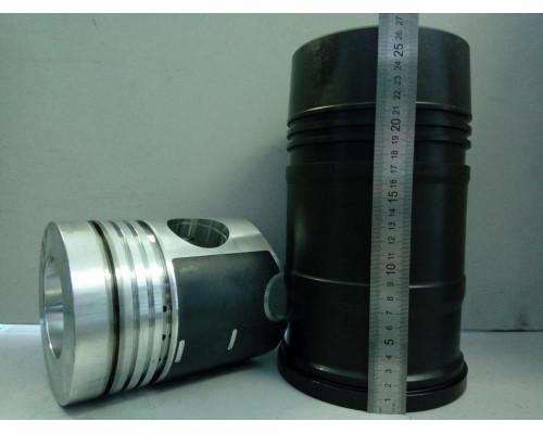 Гильза с поршнем ЯМЗ-238Б (кор.гильза,поршень,упл/к,п/к) (блок 238-И) АВТОДИЗЕЛЬ