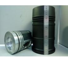 Гильза с поршнем ЯМЗ-236,238 (гильза,поршень,упл/к,п/к)(общ.ГБЦ) (вместо 238Б-1004005-Б) АВТОДИЗЕЛЬ