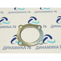Прокладка ЯМЗ-536 турбокомпрессора (металл) (ЯМЗ)
