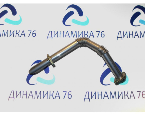 Трубка ЯМЗ-536 рециркуляции радиатора отработавших газов