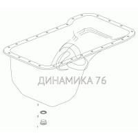 Картер масляный ГАЗон NEXT дв. ЯМЗ-5344