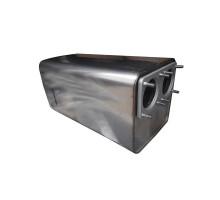 Глушитель-нейтрализатор для автомобилей МАЗ, Урал с двигателем ЯМЗ 536 (квадратный)