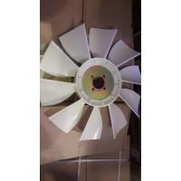 Вентилятор ЯМЗ-7511,238НЕ, БЕ (пластик, белый, внутр. 65 мм, наружный диаметр 600 мм, 10 лопастей