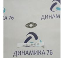 Прокладка заглушки водяной трубы дв.ЯМЗ-534,536 (паронит)