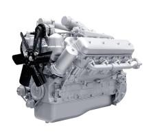 Двигатель ЯМЗ-238ВМ-осн.без КПП, со сц. (240 л.с.)