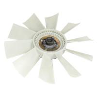 Вентилятор КАМАЗ-4307,ПАЗ,КАВЗ 520мм с вязк. муфтой в сборе (дв.CUMMINS B3.9 140) BORG WARNER