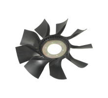 Вентилятор КАМАЗ-ЕВРО 640мм с плоским диском в сборе (дв.CUMMINS ISBe185-300) ТЕХНОТРОН