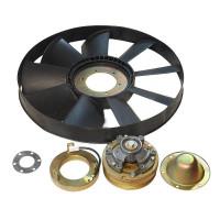 Вентилятор КАМАЗ-ЕВРО 654мм с электромагнитной муфтой в сборе (07-) (дв.740.30,31) ТЕХНОТРОН