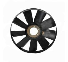 Вентилятор КАМАЗ-ЕВРО 704мм с обечайкой и плоским диском в сборе (дв.740.62) ТЕХНОТРОН