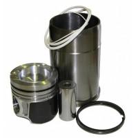 Гильза с поршнем КАМАЗ ЕВРО-4 (дв.820.60-73 газ) с пальцем и кольцами (ОАО КАМАЗ)