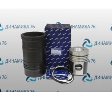 Гильза с поршнем ЯМЗ-238Б (гильза,поршень,упл/к,п/к) МОТОРДЕТАЛЬ