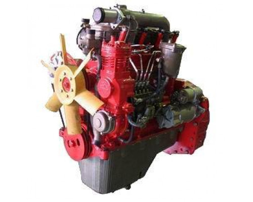 Двигатель Д-245.7-363 (ПАЗ-3205) 12V с ЗИП ММЗ