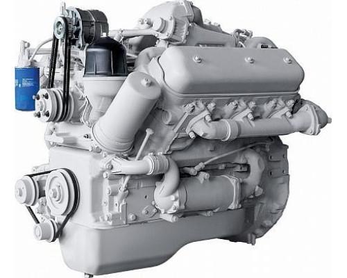 Двигатель ЯМЗ-236БИ (Электроагрегаты) без КПП и сц. (250 л.с.) АВТОДИЗЕЛЬ