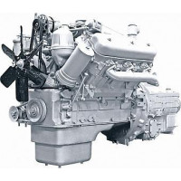 Двигатель ЯМЗ-236М2-19 (УралАЗ) с КПП и сц. (180 л.с.) АВТОДИЗЕЛЬ