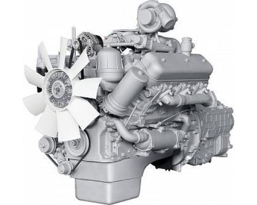 Двигатель ЯМЗ-236НЕ-16 (МАРЗ, АМАЗ) с КПП и сц. (230 л.с.) АВТОДИЗЕЛЬ