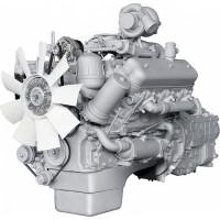 Двигатель ЯМЗ-236НЕ2-8 (Волжанин) с КПП и сц. (230 л.с.) АВТОДИЗЕЛЬ