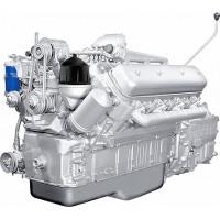 Двигатель ЯМЗ-238АМ2-1 (МоАЗ) с КПП и сц. (240 л.с.) АВТОДИЗЕЛЬ
