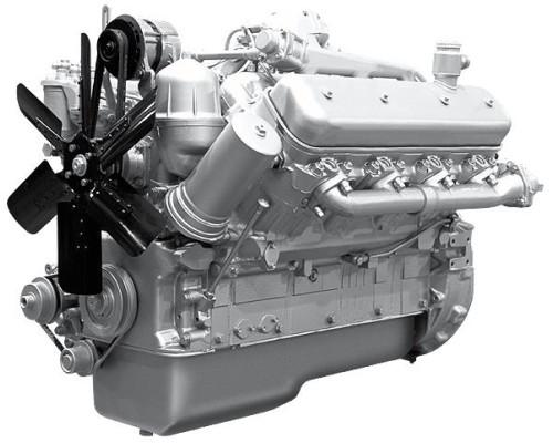 Двигатель ЯМЗ-238Б-1 (МАЗ) без КПП и сц. (300 л.с.) АВТОДИЗЕЛЬ