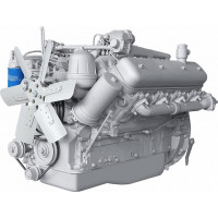Двигатель ЯМЗ-238Б-14 (ТихМЗ) без КПП, со сц. (300 л.с.) АВТОДИЗЕЛЬ