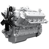 Двигатель ЯМЗ-238Б-22 (МоАЗ) без КПП и сц. (300 л.с.) АВТОДИЗЕЛЬ