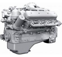 Двигатель ЯМЗ-238БВ-осн. без КПП, со сц. (310 л.с.) АВТОДИЗЕЛЬ