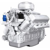 Двигатель ЯМЗ-238ГМ-осн. (ТЯЖЭКС, Уралвагонзавод, ЭКСКО) без КПП, со сц. (180 л.с.) АВТОДИЗЕЛЬ