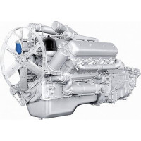 Двигатель ЯМЗ-238ДЕ-10 (МАЗ) с КПП и сц. (330 л.с.) АВТОДИЗЕЛЬ