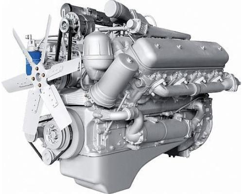 Двигатель ЯМЗ-238ДЕ2-1 (МАЗ) без КПП и сц. (330 л.с.) АВТОДИЗЕЛЬ
