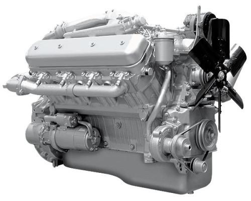 Двигатель ЯМЗ-238ДИ (Электроагрегаты) без КПП и сц. (300 л.с.) АВТОДИЗЕЛЬ